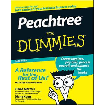 Peachtree for Dummies by Marmel & Elaine J.