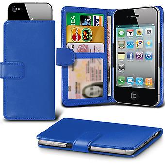 ( Blue ) Case For BLACKVIEW A8 Faux Leather Adjustable Wallet Case BLACKVIEW A8 Cover By i-Tronixs