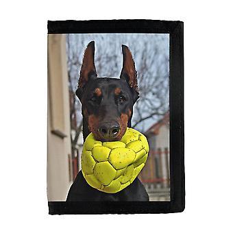 Hund Doberman Pinscher Plånbok