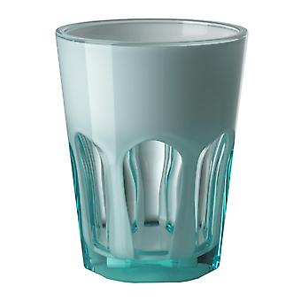 Mario Luca Giusti Set of 6 Double Face Plastic Cups Turquoise