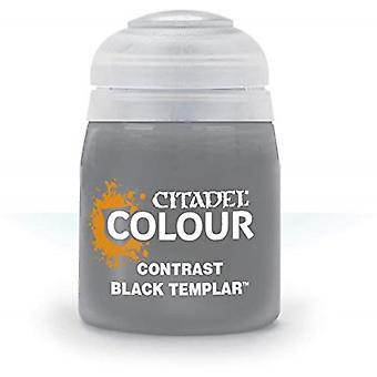 Contrast: Black Templar (18ml), Citadel Paint Contrast, Warhammer 40,000
