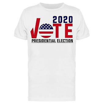 2020 États-Unis Vote Tee Men-apos;s -Image par Shutterstock