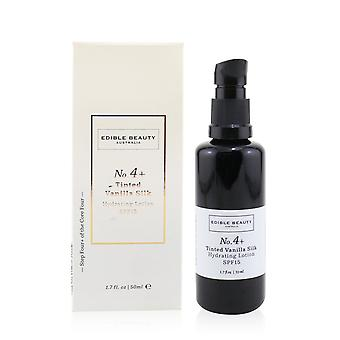 No. 4+ tinted vanilla silk hydrating lotion spf 15 50ml/1.7oz