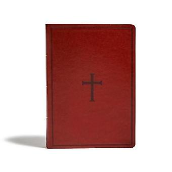 KJV Super Giant Print Reference Bible - Brown LeatherTouch by Holman