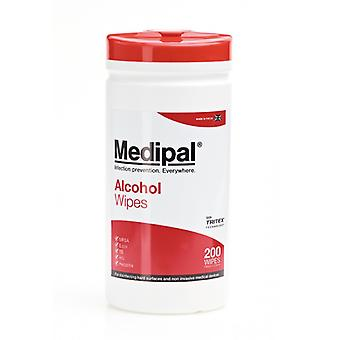 Medipal 200 70% Alcohol Disinfecting Clinical Wipes