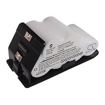فراغ البطارية ل Shark Euro Pro EU-36040 XBP615 UV615 UV615H UV615K UV627