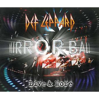 Def Leppard - Mirrorball-Live & More [CD] USA import