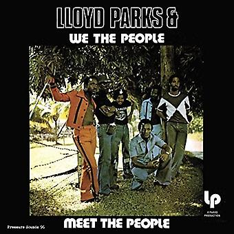 Lloyd Parks & We the People - Meet the People [CD] USA import