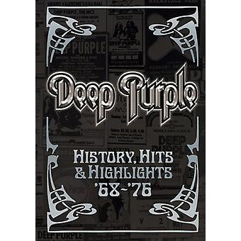 Deep Purple - History Hits & Highlights 1968-76 [DVD] USA import