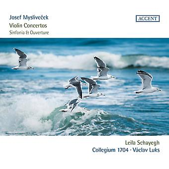 Myslivecek / Schayegh - Viulu Konsertto [CD] USA tuonti