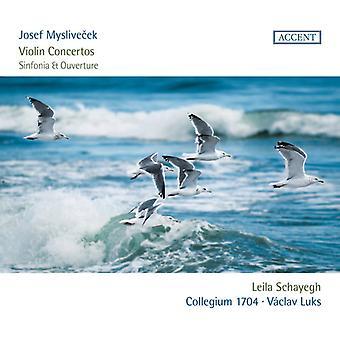 Myslivecek / Schayegh - Violin Concertos [CD] USA import