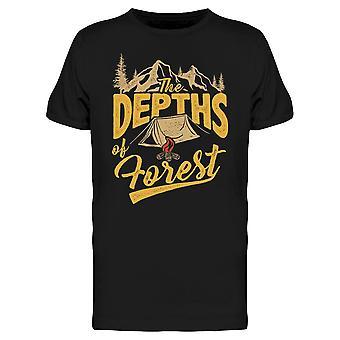 The Depths Of Forest Tee Men's -Image door Shutterstock