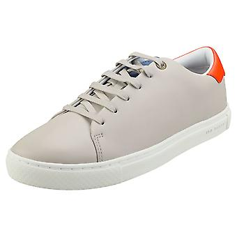 Ted Baker Leepow Mens Fashion Trainers in Grey