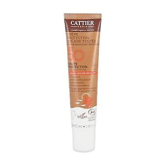Tinted protection cream SPF 50 face and décolleté 40 ml
