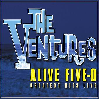 Ventures - Alive Five-O: Greatest Hits Live [CD] USA import