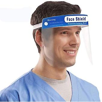 Safety isolation full face shields reusable clear wide vision