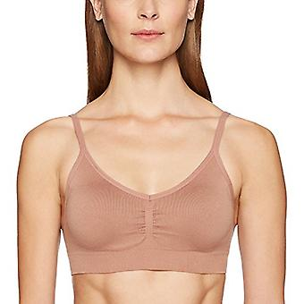 Marke - Arabella Women's Seamless Padded Everyday BH, Café Au Lait, ...