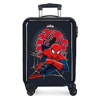 Wózek w ABS Spiderman Tech Black