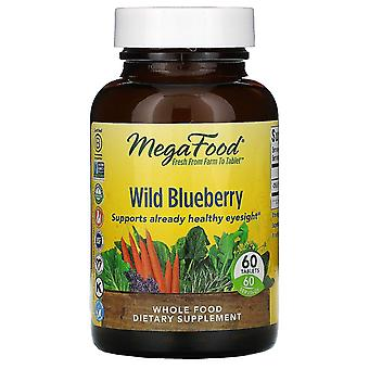 MegaFood, Wild Blueberry, 60 Tablets