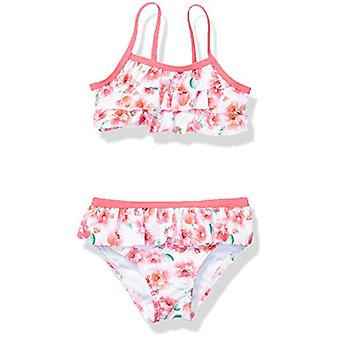 Tommy Bahama Baby Girls 2-Piece Swimsuit Bathingsuit Bikini, Floral Print, 24...