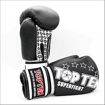 Top ten superfight boxing gloves black