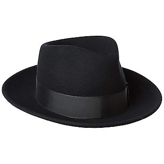 Bailey of Hollywood Men's Fedora Hat, Black, L, Black, Size Large