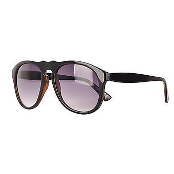 نظارات شمسية Unisex Cat.2 أسود / أرجواني (AMM19109 A)