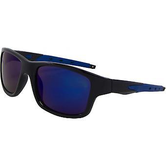 Napszemüveg Unisex Sport Kat. 3 fekete/kék (9280-B)