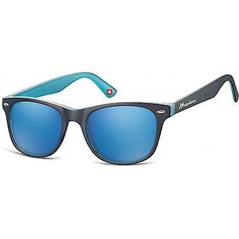 Sunglasses Unisex Traveler Black/Blue (MS10)
