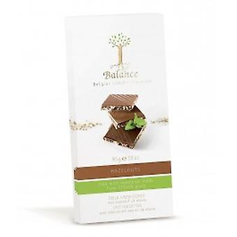 Balance - Milk Chocolate Hazelnut Bar - Stevia Sweetened
