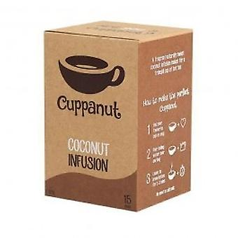 Cuppanut - Coconut Infusion 15 Bags