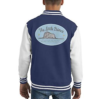 The Little Prince Elephant All Grown Ups Were Children Once Kid's Varsity Jacket