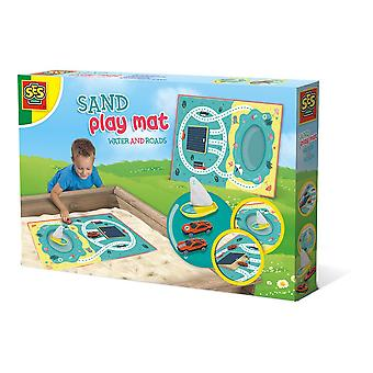 Ses Creative Children's Water and Roads Sand Play Mat (2217)