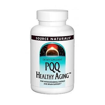 Källa Naturals PQQ hälsosamt åldrande, 30 flikar