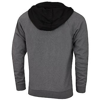 Lacoste Mens Sport Two-Tone Raglan Mouwen Fleece Sweater Zip Hoodie