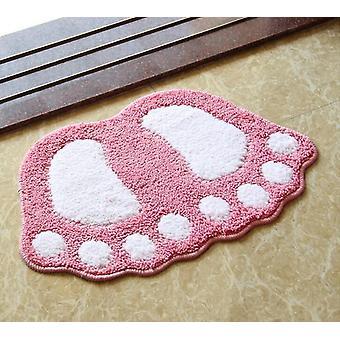 Noha tlač vaňa rohože, non Slip - Kúpeľňa koberec