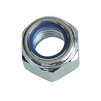 Forgefix Nyloc Nuts & Washers Zink vergulde M16 Forge Pack 4 FORFPNYL16