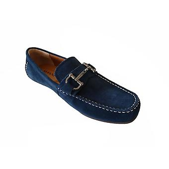 Alfani Women's Shoes James Leather Square Toe Loafers
