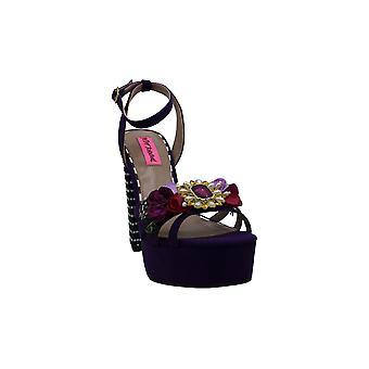 Betsey Johnson Naiset's Kengät Marlo Peep Toe Casual Slingback Sandaalit