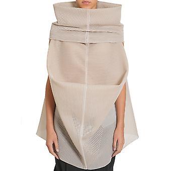 Rick Owens Ro17s3601ksp21 Women's Beige Silk Sweater