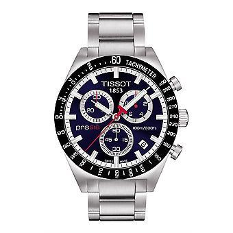 Tissot T044.417.21.041.00 PRS516 Blue Dial Chronograph Men's Watch