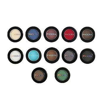 Matte Eye Shadow Powder, Pigment Long Lasting Bright Makeup Water Resistant