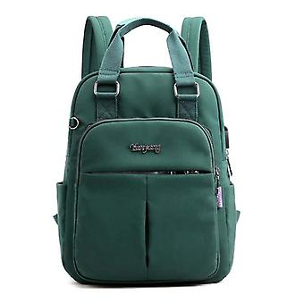 السيدات الصلبة حقائب الظهر سعة كبيرة، متعدد الجيب المرأة أزياء حقيبة مدرسة