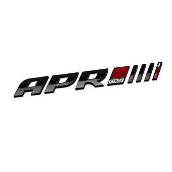 APR Badge Emblem Tuning Stage III+ Stage 3+ Brand New Audi VW Seat Skoda Black