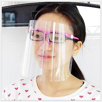 Full Face Protect Anti Saliva Anti Foam Safety Transparent Protection Face Mask