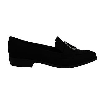 Bar III Womens Involve5 Fabric Pointed Toe Loafers