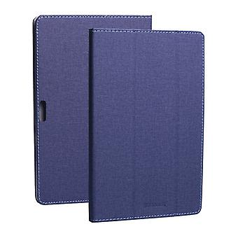 For TECLAST M16 For TECLAST TECLAST Horizontal Flip PU Leather Protective Case with Holder(Blue)