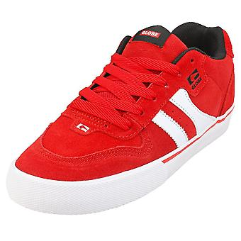 Globe Encore 2 Mens Casual Trainers in Red White