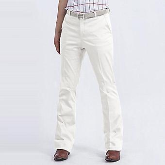Men's Business Casual Fiared Pants, Slim-fit, Non-scalding Trousers, Male Big
