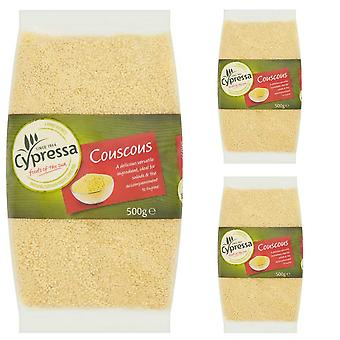 3 x 500g Packet Instant CousCous for salads